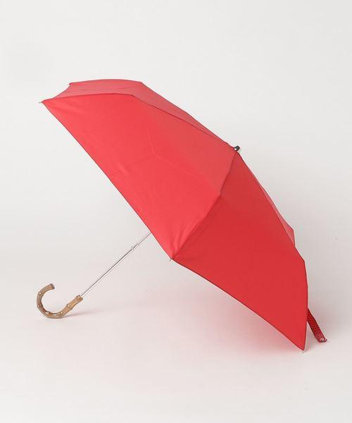 ∴雨晴兼用 ボーダーかさ / ドットミニ折り畳み傘 竹手 ムジ/ドット 1311/1312