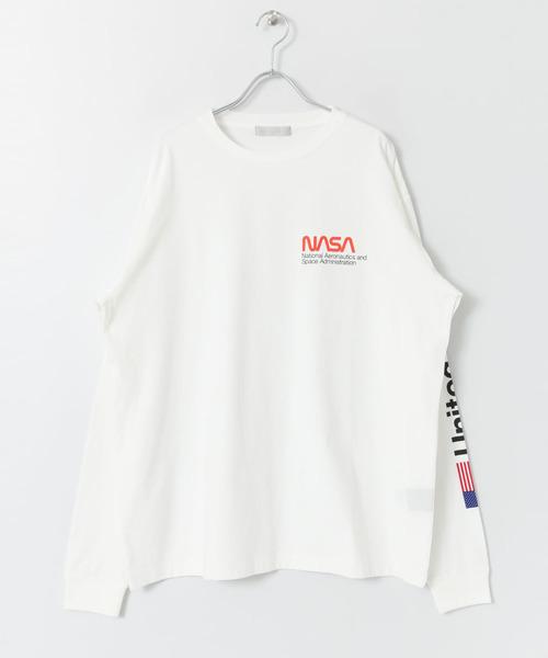 NASA 別注プリントTシャツ
