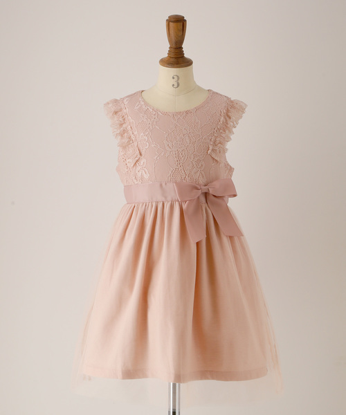 f145c5c56e6f5 Catherine Cottage(キャサリンコテージ)のアンティークカラーレースドレス(ドレス)