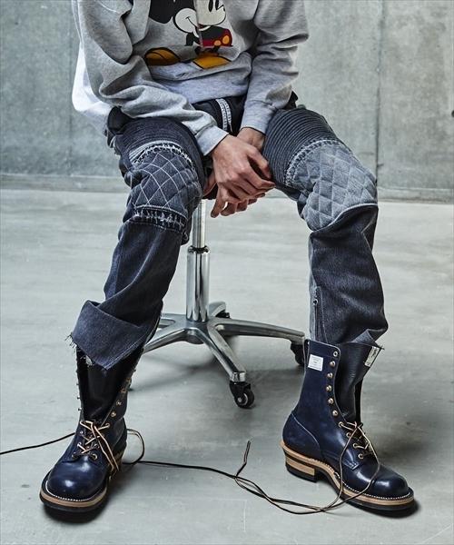 値頃 SEVESKIG MOTO/セヴシグ/VINTAGE UPSYCLE UPSYCLE MOTO PANTS(デニムパンツ)|SEVESKIG(セヴシグ)のファッション通販, comokka:6f514b9a --- poicommunity.de