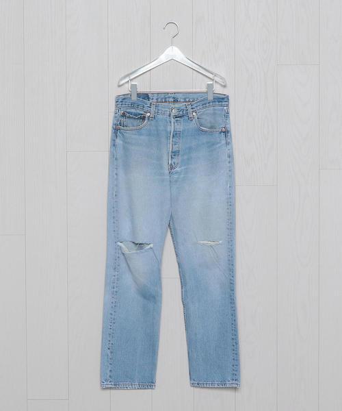 <USED>LEVIS 501 BLUE 33inc/パンツ.