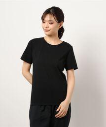 【THE CHIC】オーガニックコットンホールガーメントTシャツブラック