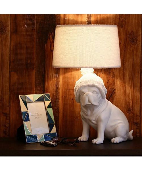 Francfranc(フランフラン)の「ウォームス テーブルランプ ホワイト(照明)」|ホワイト