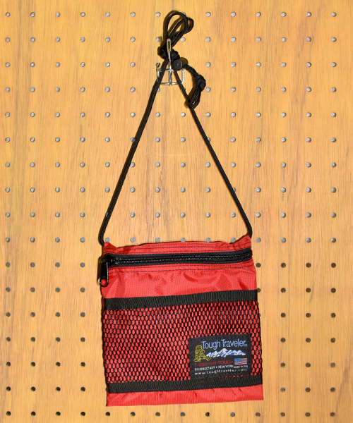 【Tough Traveler / タフトラベラー】Large Pouch with Mesh Pocket