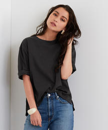 【EMMEL REFINES】SMF 裾スリット C/N Tシャツ
