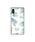 Vicente(ヴィセンテ)の「iPhoneケース Vicente ヴィセンテ 【iPhoneXS/X】 スクエア型 ガラスケース Gizmobies ギズモビーズ Daisy / Vintage Hawaiian(モバイルケース/カバー)」|ホワイト×ブルー