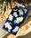Vicente(ヴィセンテ)の「iPhoneケース Vicente ヴィセンテ 【iPhoneXS/X】 スクエア型 ガラスケース Gizmobies ギズモビーズ Daisy / Vintage Hawaiian(モバイルケース/カバー)」|ブラック×イエロー