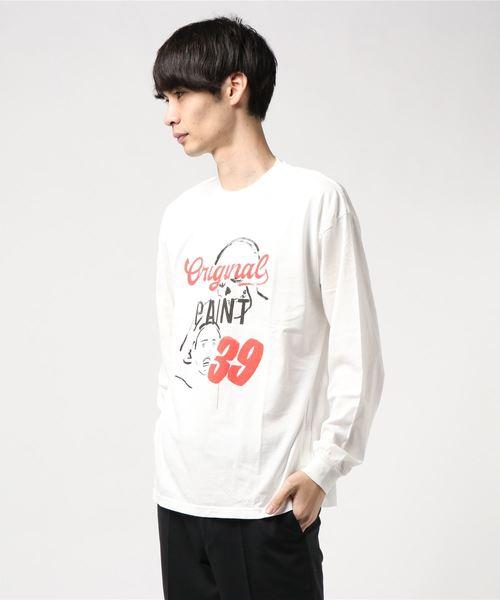 SB/ORIGINAL PAINT リブ付Tシャツ