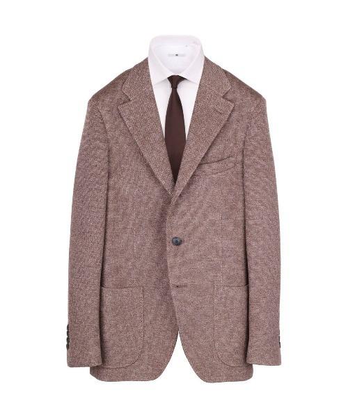 【CLASSICO TAPERED】コットンブレンド3釦段返りジャケット