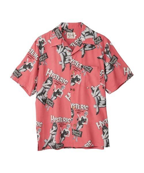MONDO VISION柄 アロハシャツ