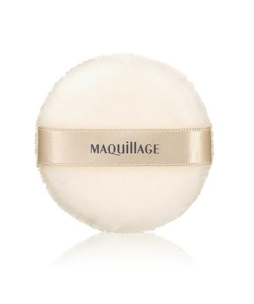 MAQuillAGE(マキアージュ)の「マキアージュ ドラマティックルースパウダー用パフ(メイク雑貨)」|ホワイト