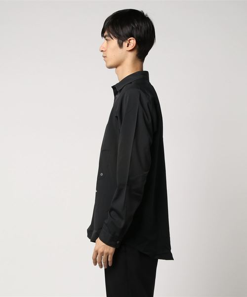and wander/アンドワンダー tech long sleeve shirts/テックロングスリーブシャツ