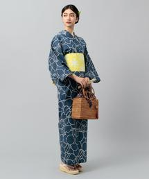 【WEB限定】<三勝(さんかつ)> 菖蒲 浴衣