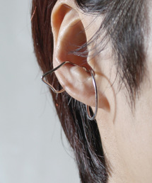 contra bo nepre(コントラ ボ ネプレ )のmelin ear cuff square circle silver(イヤリング(片耳用))