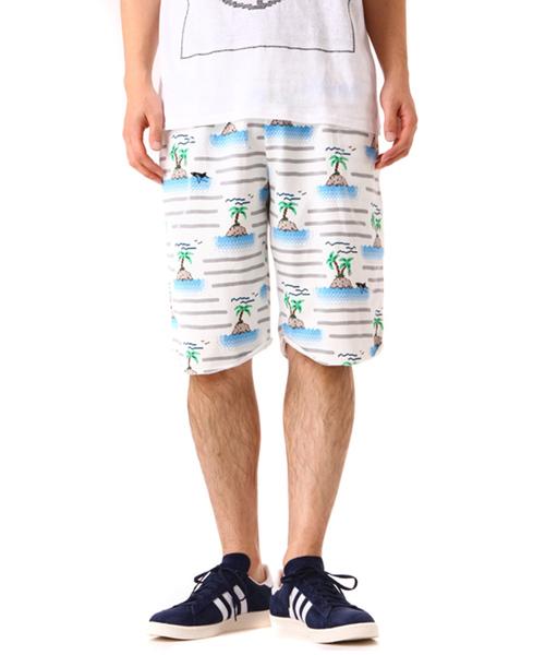 【即発送可能】 Julien David / ジュリアン デイヴィッド:Knitted Border Pants-whtgry:TMS-152-whtgry[RIP], イガシ 099fd80c