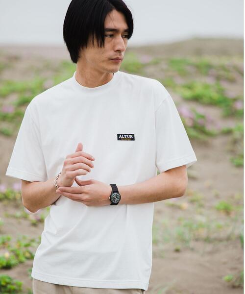 【WEB限定】別注 [ アルタス ] ALTUS GLR エンブロ ロゴ Tシャツ