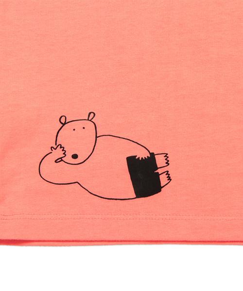 キッズTシャツ/ハートウォーミングベア