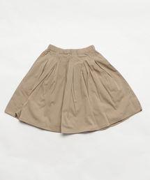 b・ROOM(ビールーム)の【WEB限定】タックプリーツスカート(スカート)