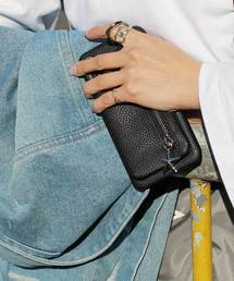 kajsa(カイサ)の〈Kajsa/カイサ〉Detachable Zipper Bag iPhoneX/XS/XS MAX Back Case/ジッパーバッグ ケース(モバイルケース/カバー)