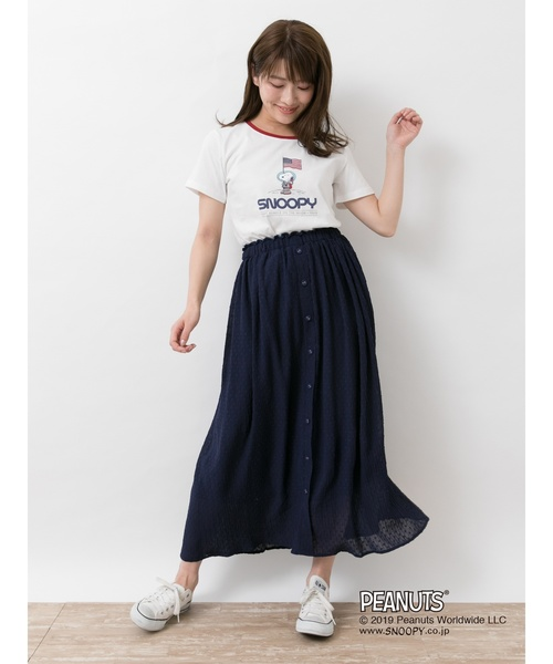 Snoopy/earthリンガ-Tシャツ