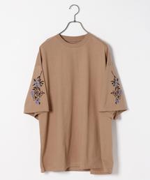 HARE(ハレ)のソデシシュウカットソー(HARE)(Tシャツ/カットソー)