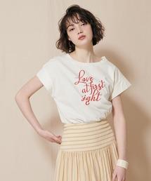 ロゴTシャツオフホワイト