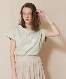 ロゴTシャツミント