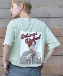 kutir(クティール)のアニメ風キャラプリントTシャツ(Tシャツ/カットソー)