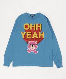 OHH YEAH Tシャツ【L】ブルー