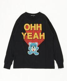 OHH YEAH Tシャツ【L】ブラック