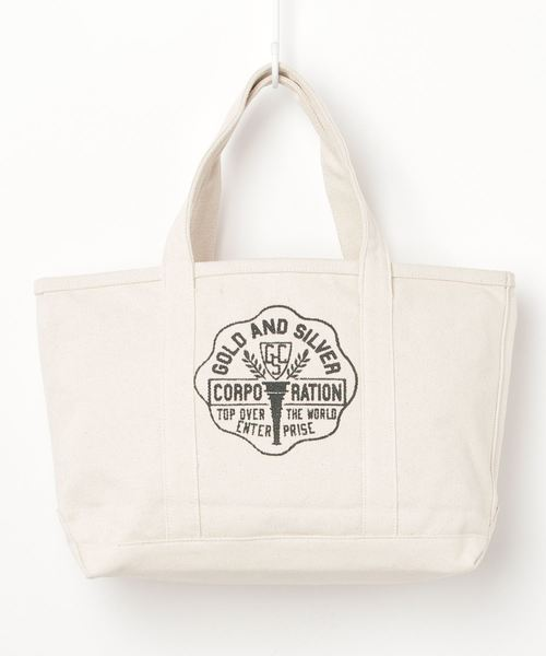 ST: プリントキャンバスエコバッグ PRINT TOTE M