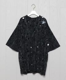 <WE11DONE>HOLE T-SHIRT/Tシャツ.