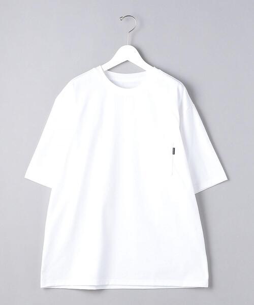 <THE NORTH FACE(ザ・ノースフェイス)> ショートスリーブ エアリー ポケット Tシャツ