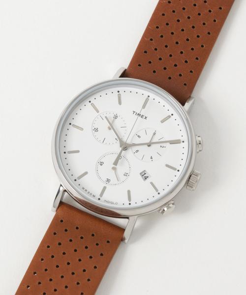 最前線の TIMEX Fun : ウィークエンダー : フェアフィールド & クロノグラフ(腕時計)|Fun & Daily(ファンアンドデイリー)のファッション通販, 東脊振村:5da3c548 --- skoda-tmn.ru