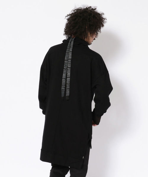 KMRii/ケムリ/OVER NECK PULLOVER