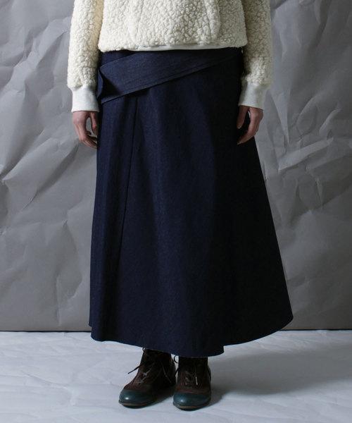【ohta】 denim skirt