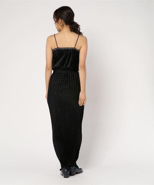 【La Garconne / ラ ギャルソンヌ】Pleated Dress:ワンピース