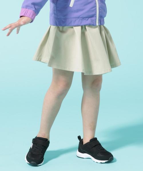 【coen キッズ / ジュニア】ツイルスカパン19SS(ストレッチ入り)/キュロットスカート/スカッツ(100〜150cm)