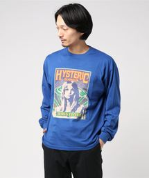 FUNKA HYS リブ付Tシャツブルー