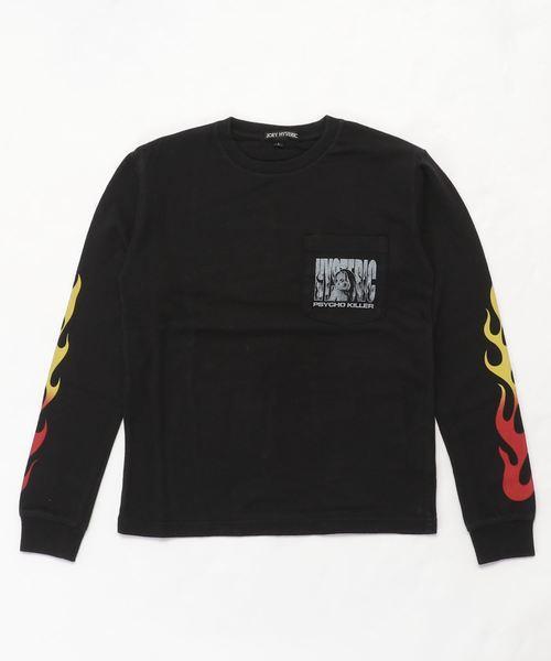 PSYCHO KILLER pt リブ付Tシャツ【L】