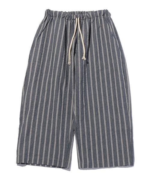 <HANDLE WITH FREEDOM> STRIPED PANTS/ワイドイージーパンツ