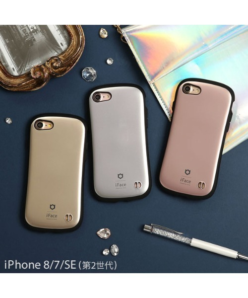 iPhone8 ケース iPhone7 ケース iFace First Class Metallic アイ ...