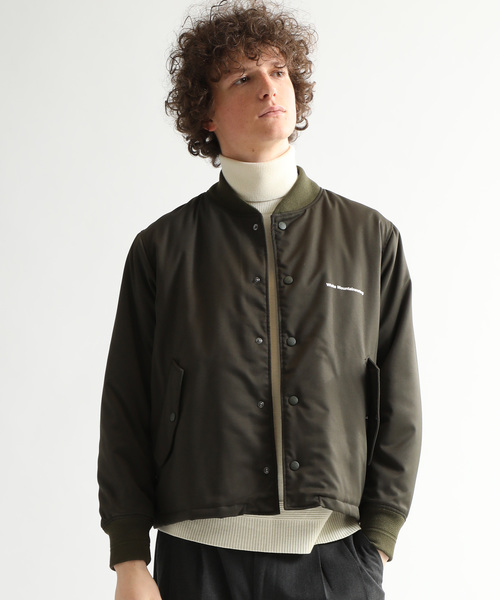 【White mountaineering】STUDIOU限定別注LOGO MA-1