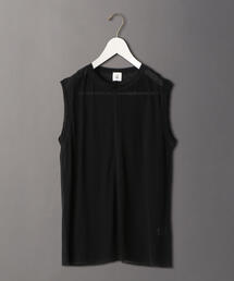 <6(ROKU)>SHEER LOCK NO SLEEVE PULLOVER/カットソー