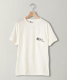 <MHL.> 1POC LOGO TEE/Tシャツ