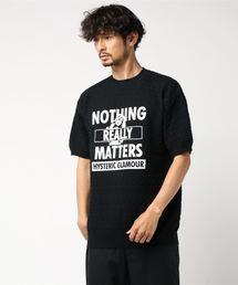 NOTHING REALLY MATTERS プルオーバーブラック