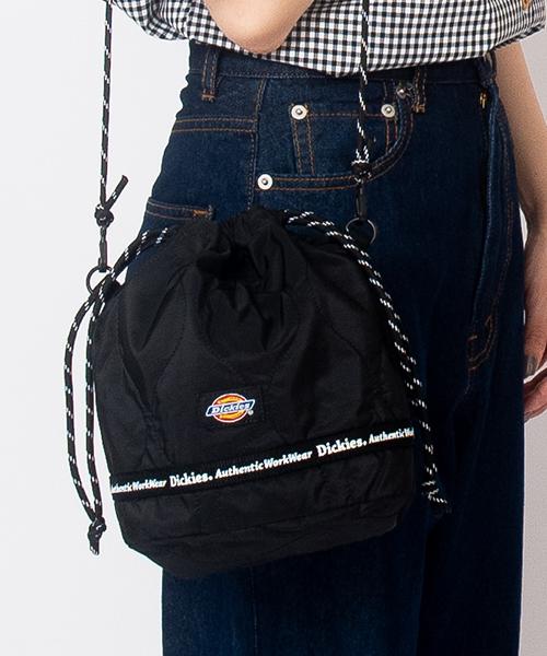 Dickies【ディッキーズ】DK WAVE QUILTING DRAWSTRING BAG / キルティング巾着パック