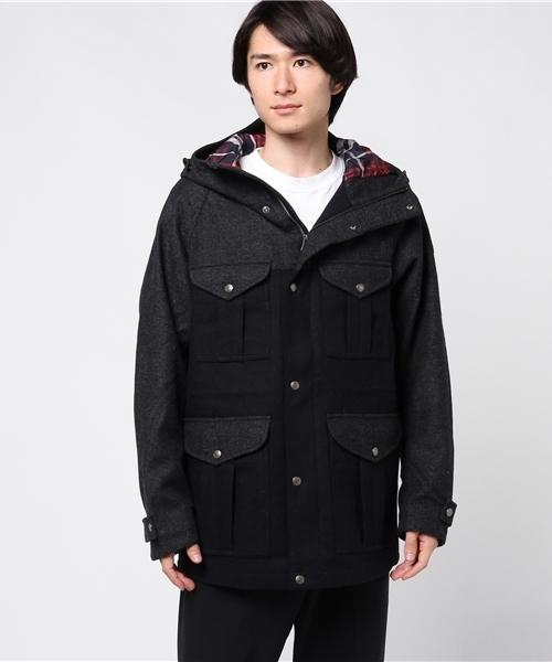 ウールミックス・ウィンドウプルーフジャケット