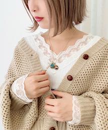 apres jour(アプレジュール)の刺繍スカラップレースロングスリーブ【ZOZOTOWN限定アイテム】(Tシャツ/カットソー)