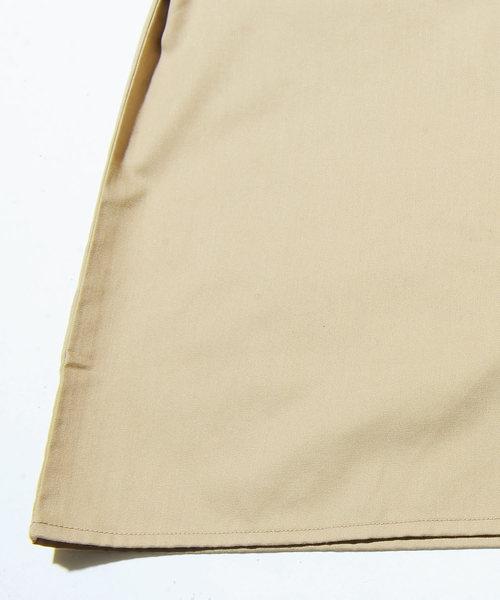 ツイル刺繍入り長袖オープンカラーシャツ